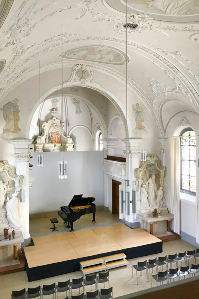 Inside the College Chapel