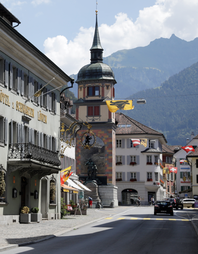 Town of Altdorf, Switzerland