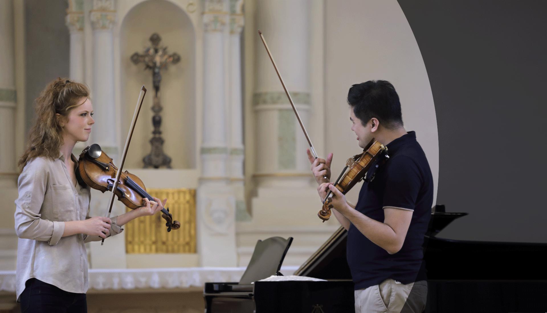 Masterclass with Bùi Công Duy, Borromeo Music Festival 2018
